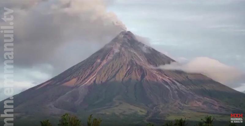Христиане помогают филиппинцам укрыться от извержения вулкана