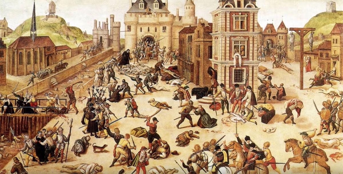 Гугенотские войны