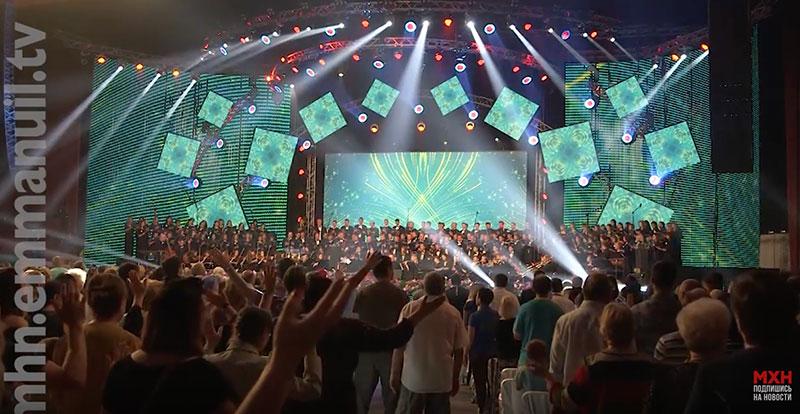 Национальный день молитвы собрал 10 тысяч христиан разных деноминаций