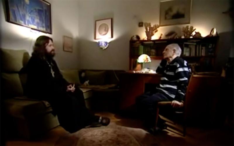 Беседа игумена Евмения Перистого и Григория Померанца