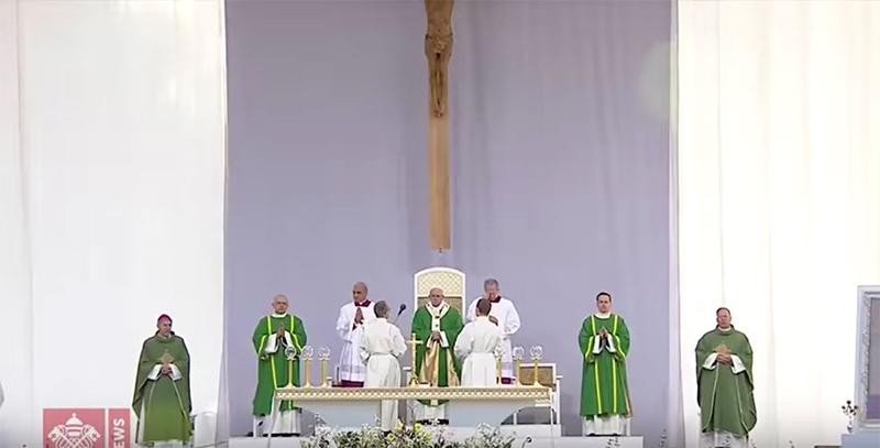 Papa Francesco Lituania santa messa 2018-09-23