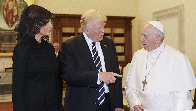 Дональд Трамп в Ватикане