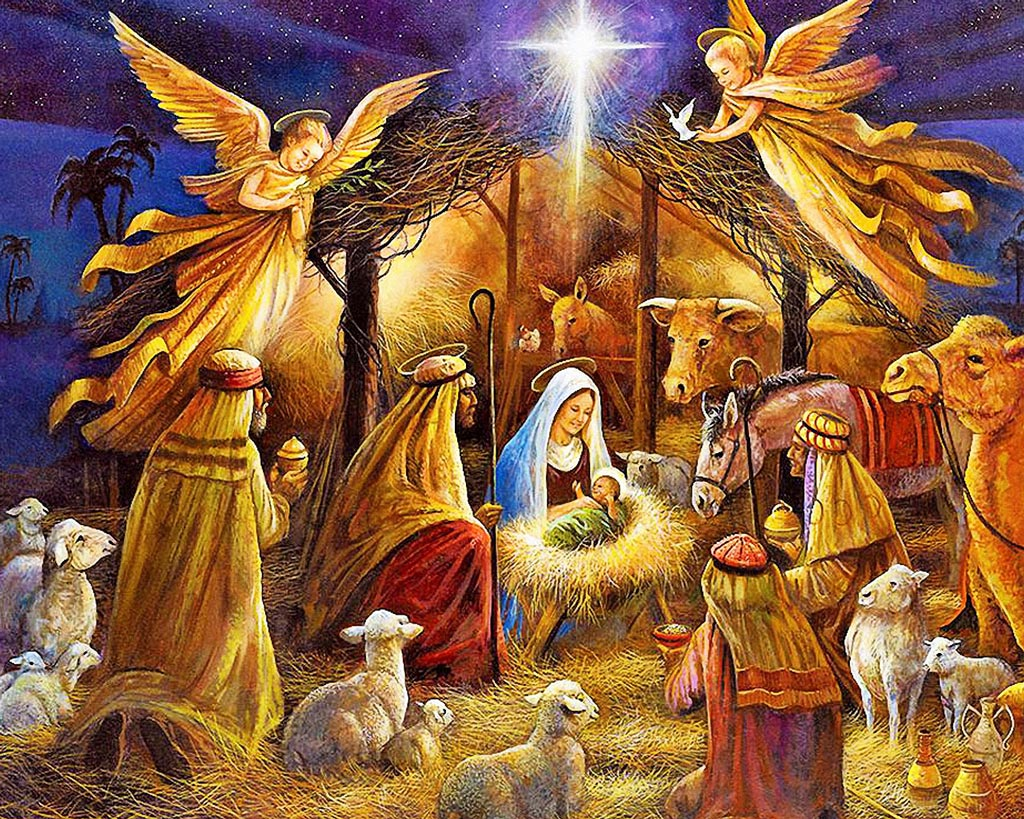 Открытки рождение иисуса